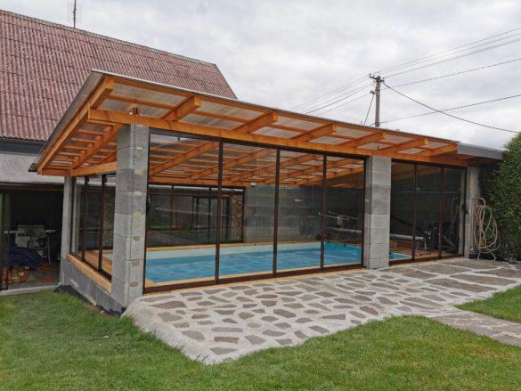 Zasklení bazénu Petřkovice