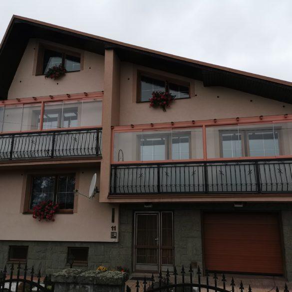 zasklení balkónů